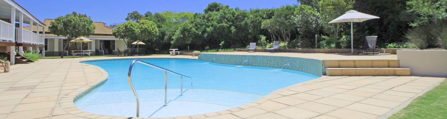 One of Two Swimming Pools at The Dunes Resort
